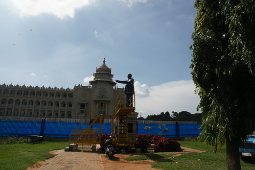 BR Ambedkar statue at Bangalore Vidhan soudha - Politicians trap