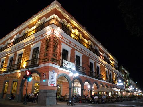 """P9230141 Recorrido Nocturno Centro Histórico de Puebla """"Portales"""" por LAE Manuel Vela"""