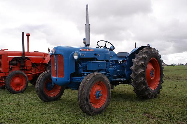 Dexta Tractor Hydraulics : Ford dexta tractor