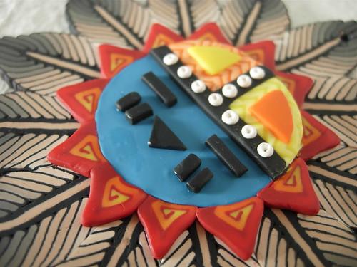 Sunface Kachina - detail