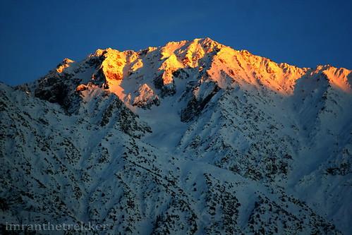pakistan sunset snow mountains tourism nature water colors animals trekking adventure climbing backpacking glaciers nwfp freezingcold chitral hindukush terichmir imranthetrekker imranschah chitralguy mountainousregions