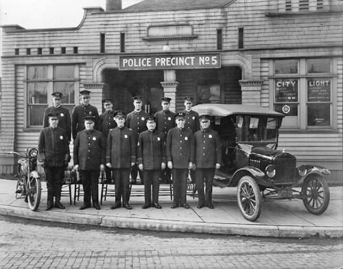 Seattle Police Department, Precinct 5, 1921