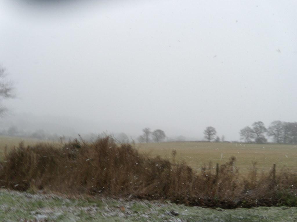 Blizzard coming Leigh to Sevenoaks