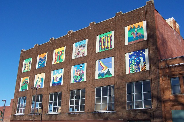 Downtown huntington murals flickr photo sharing for 6 blocks from downtown mural