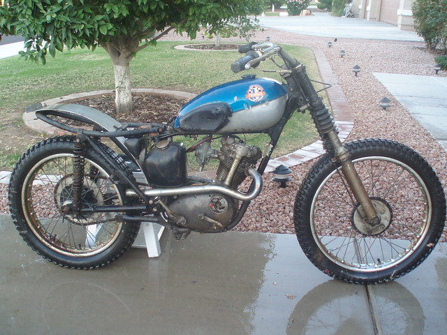 Triumph Tiger Cub http://www.flickr.com/photos/gymx/3289707771/