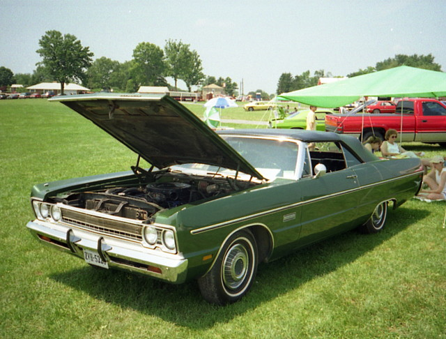 1969 Plymouth Fury Iii Convertible Chryslers At Carlisle