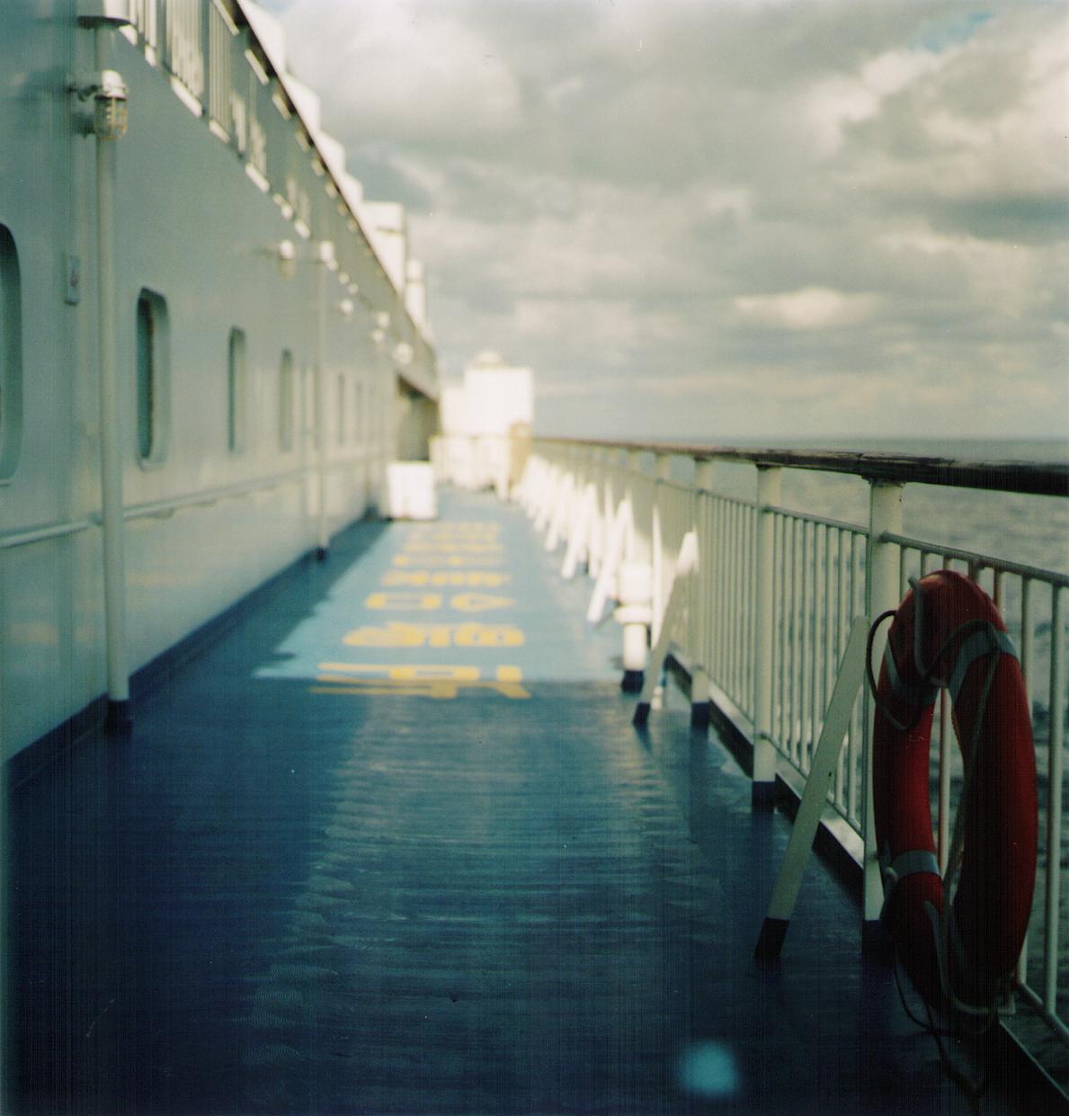 on ship