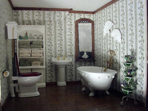 Debs Minis Pierce Dollhouse Bathroom Explore Debsminis