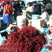 Bolivia - Sucre - Tarabuco Market - Chilies