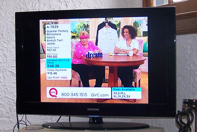 Large dream woman on QVC