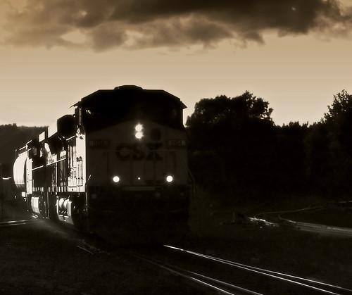 railroad sunset bw train ma glow antique engine tint olympus palmer rails 2009 freighttrain freightcars scottkelby tobaccofilter niftyfifty e420 om50mmf18 worldwidephotowalk