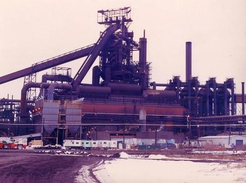 L Furnace Sparrows Point Bethlehem Steel Compan...