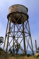 water tower, landmark, tower,