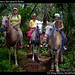 Us on horses, San Ignacio, Belize