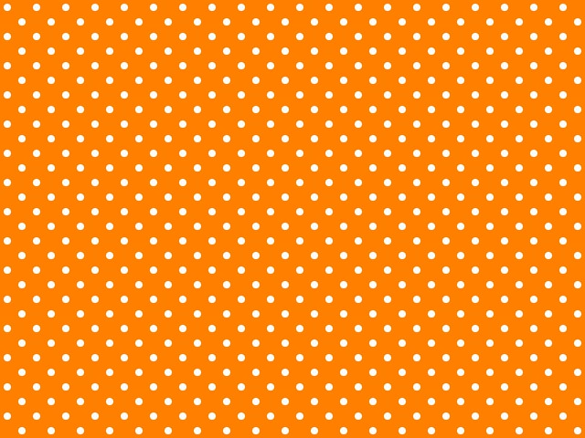 Polka-dotted background for twitter or other (Dark Orange ...