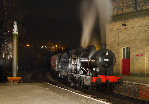 4F At Keighley Station.