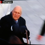 Dick Cheney rolls off into the sunset to resume counting his cash piles