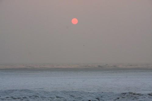 sunrise geotagged hebei goldencoast huangjinhaian