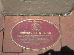 Photo of John Fry red plaque