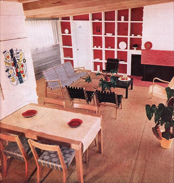 1948 Mid Century Living & Dining Room