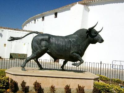 Bull sculpture, Ronda