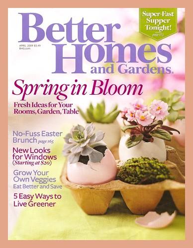 besser nach Hause und Gärten Zeitschrift