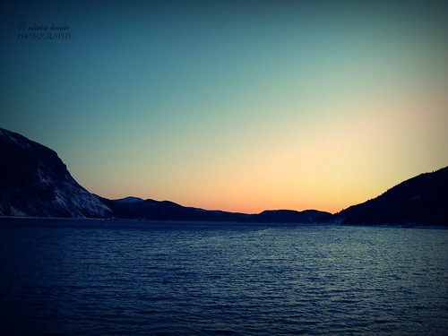 ocean blue sunset sea sky mountain seascape canada mountains nature water beautiful beauty clouds sunrise canon newfoundland landscape outside outdoors bay march nice pretty olivia gorgeous hill stunning lovely 2009 oceanscape oliviahouse
