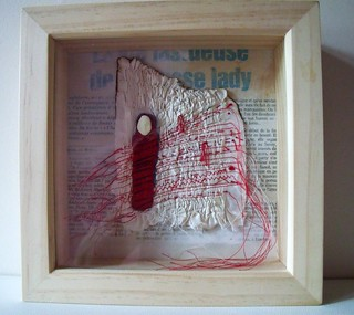 Women's Suffrage - Shadow box