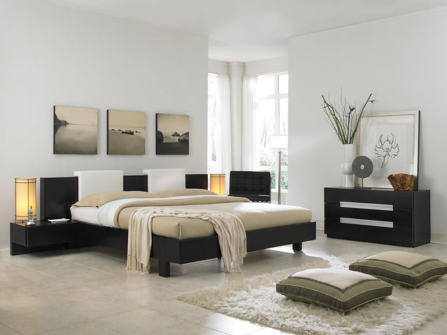 Attractive and modern bedrooms