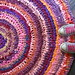 sunset rag rug