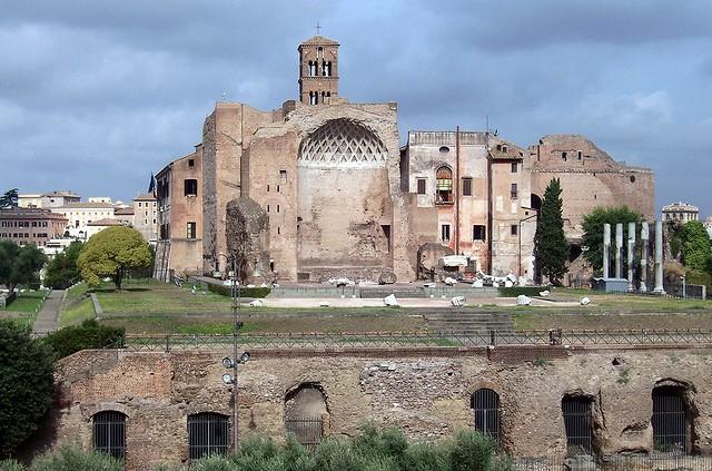 Temple of Venus and Roma, Upper Via Sacra, Rome