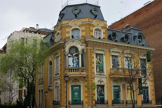 Palacete marqu s de hijosa de lava calles castell y - Calle castello madrid ...