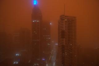 Dust Storm Sydney 5.55am