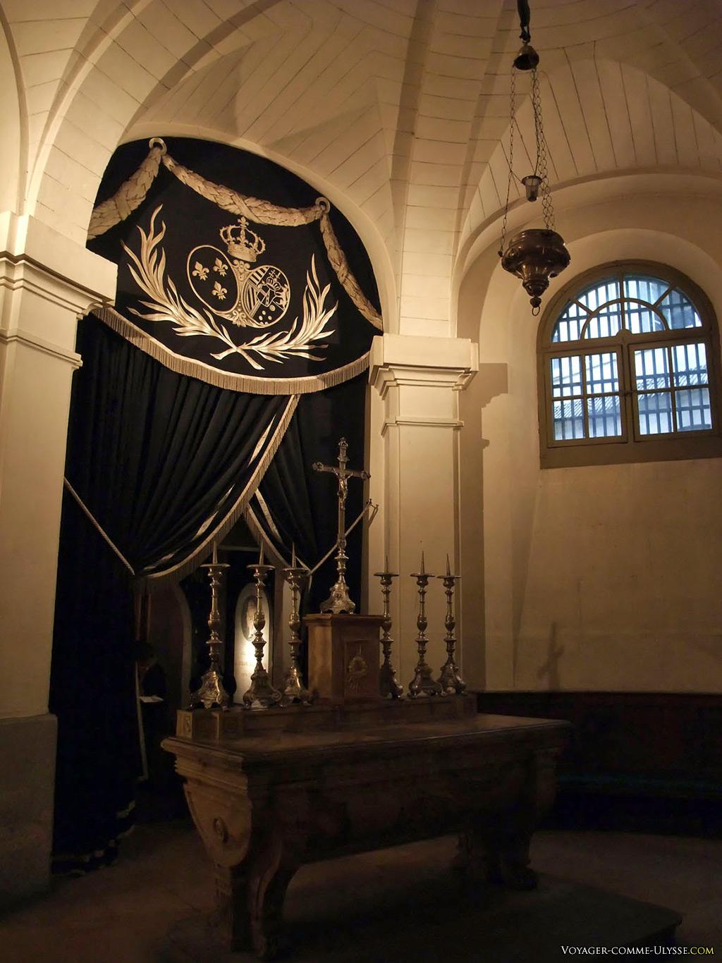 La Chapelle royale est également nommée Chapelle des Girondins