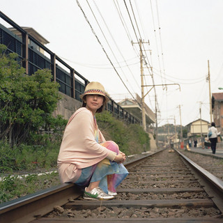 h. - on the railroad