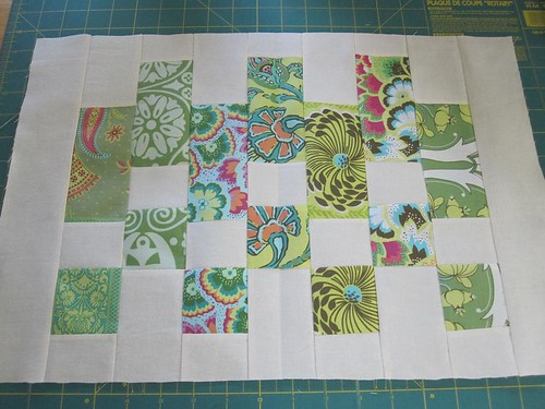 Pieced and ready to quilt