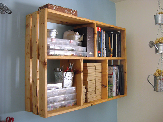 Homemade Bookshelves Designs 500 x 375