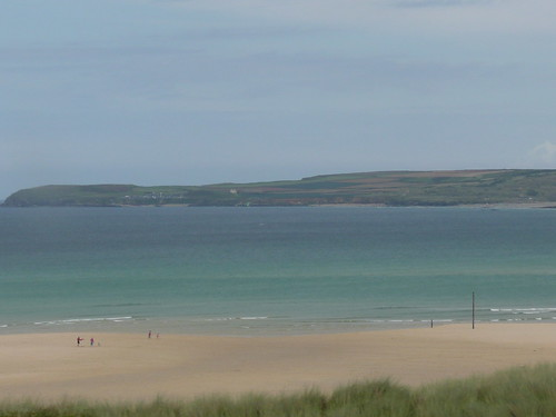Godrevy from Porthkidney Sands,St.Ives Bay,Cornwall