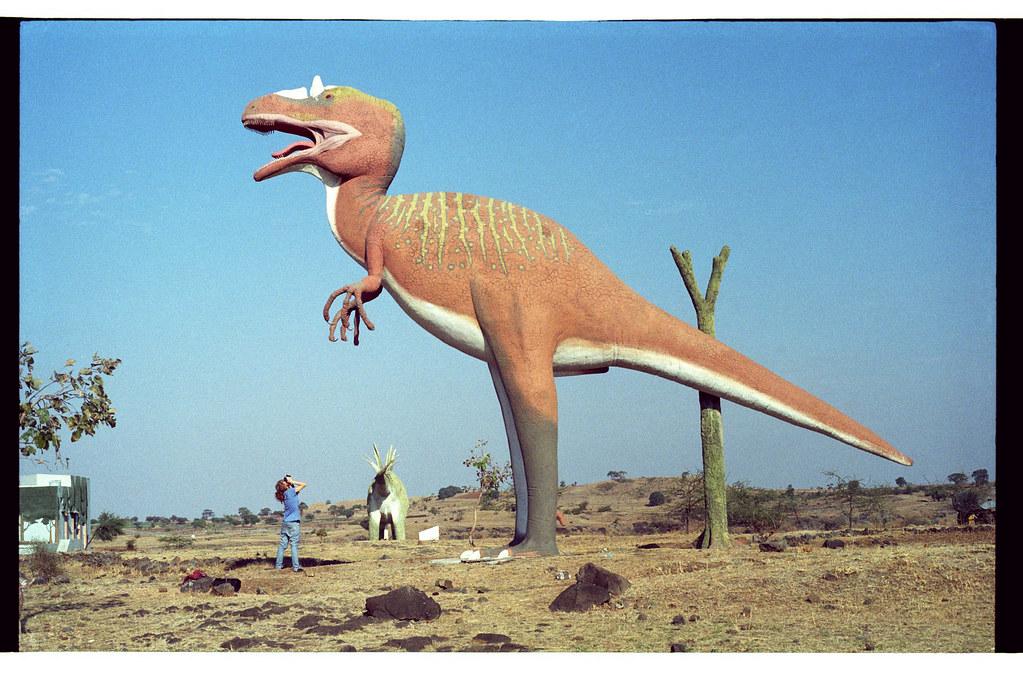 Dinosaur photography