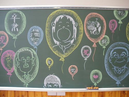 faces chalk
