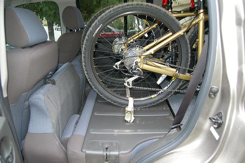How to interior bike rack mount version iii second generation nissan xterra forums 2005 Nissan xterra bike rack interior