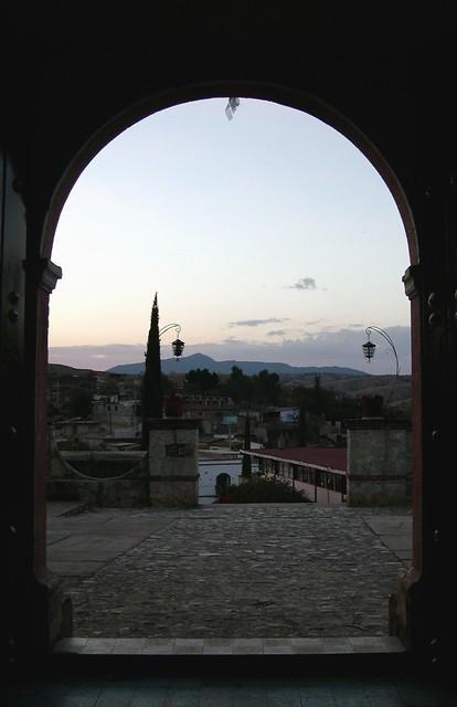 Zautla: View from Church