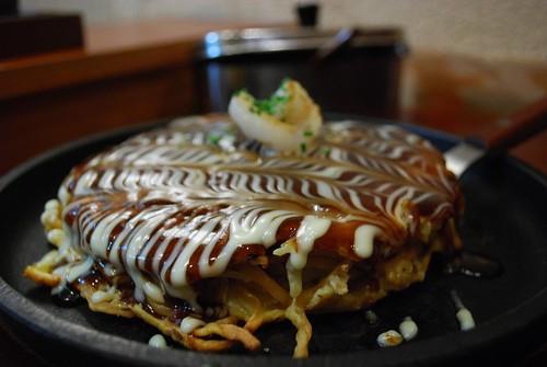 Ebi Okonomiyaki + Modern (noodles) - Jugemu and Shimbashi AUD13+6
