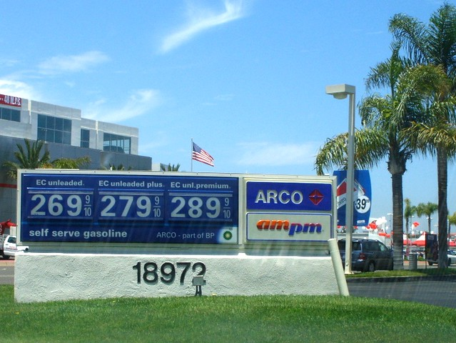 Arco Gas Prices >> Arco Gas Prices In Huntington Beach Ca Gas Prices Here We