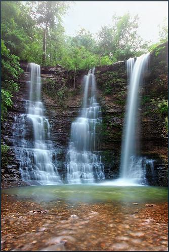 longexposure wet water rain fog twinfalls waterfalls arkansas triplefalls buffalonationalriver 1635mm gnd