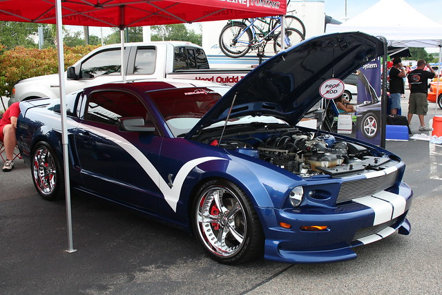 Mustangs Unlimited Car Show Pictures