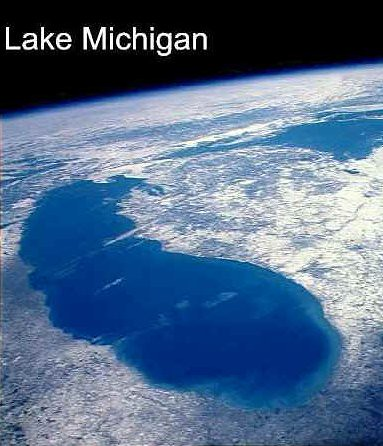 Map Of Michigan From Space U2013 Bnhspine.com