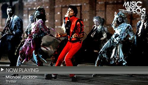 VidZone: Michael Jackson Full Screen
