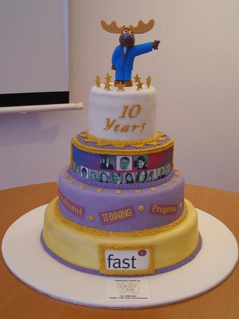 10th Anniversary Corporate Cake Flickr Photo Sharing