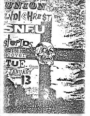 Ludichrist, SNFU, Stupids, Union Bar & Grill, Athens, Ohio, January 13, 1987